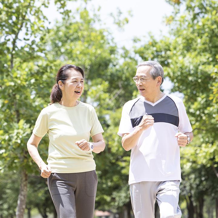 活発な高齢者が増えている
