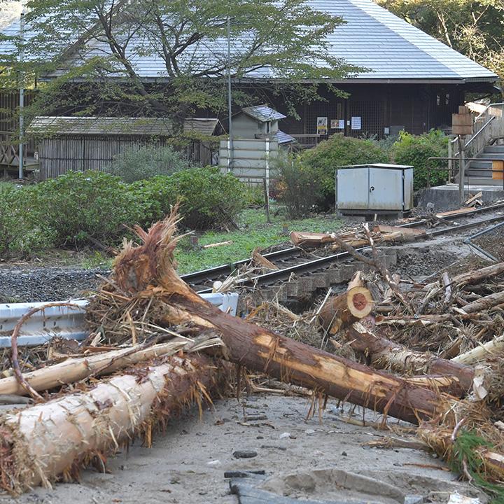 日本は自然災害が多い